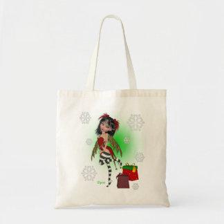 Christmas Holly Pixi Bag