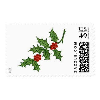 Christmas Holly Postage