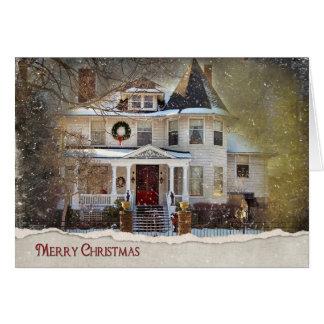 Christmas Home Card