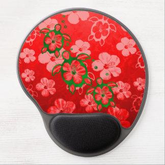 Christmas Honu Turtles Gel Mouse Pad