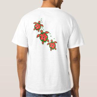 Christmas Honu Turtles T-Shirt