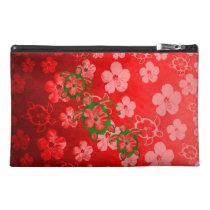 Christmas Honu Turtles Travel Accessories Bags