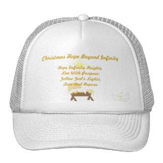 Christmas Hope Beyond Infinity-Customize Mesh Hats