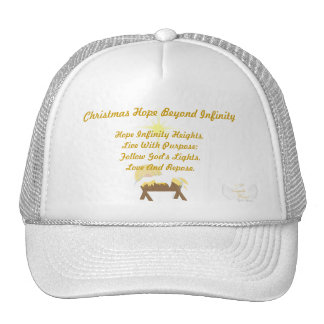 Christmas Hope Beyond Infinity-Customize Trucker Hat