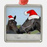 Christmas Horse and Pony Christmas Ornament