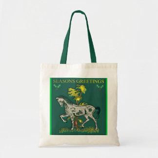 Christmas Horse Bag