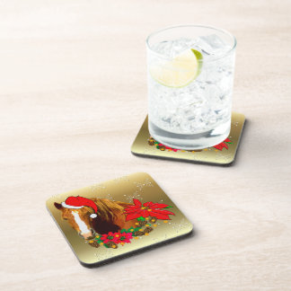 Christmas Horse Drink Coasters