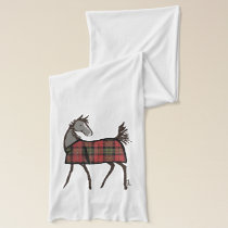 Christmas Horse Lover Scarf