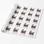 Christmas Horse Lover Wrapping Paper