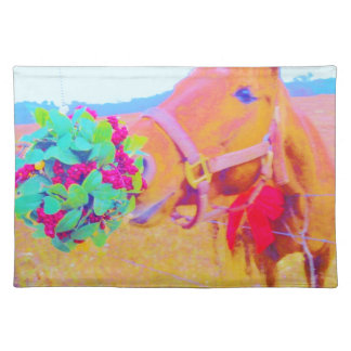 Christmas Horse Placemats