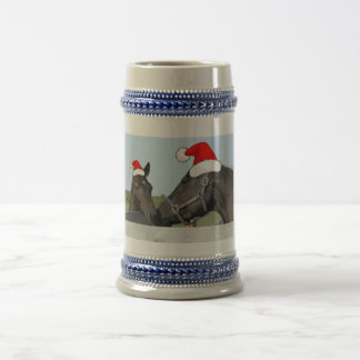 Christmas Horse & Pony Beer Stein