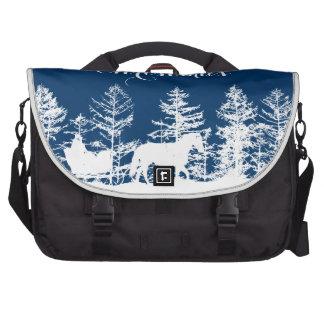Christmas Horse Sleigh Bag For Laptop
