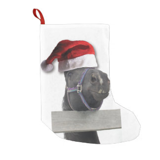 Christmas Horse Small Christmas Stocking