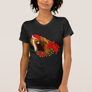 Christmas Horse T Shirts