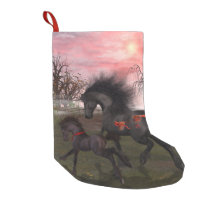 Christmas Horses Christmas Stocking