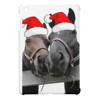 Christmas Horses iPad Mini Cases