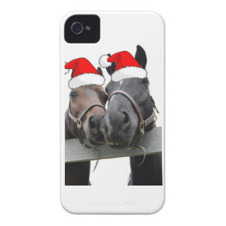 Christmas Horses iPhone 4 Case-Mate Cases