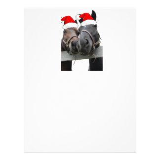 Christmas Horses Letterhead