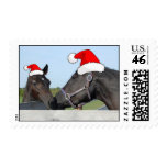 Christmas Horses Stamp