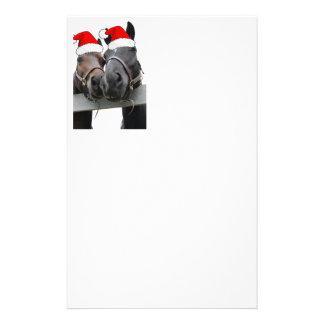 Christmas Horses Stationery