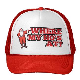 Christmas hos trucker hat