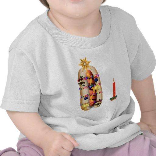 Christmas Hotdog T-shirt