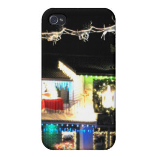 Christmas House iPhone 4/4S Case