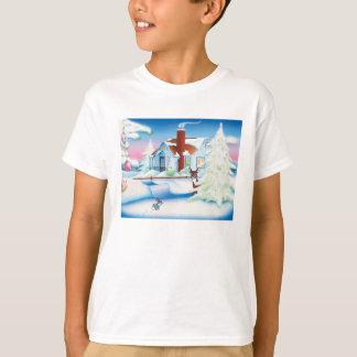 Christmas House: Kids' Basic Hanes Tagless Comfort T-Shirt