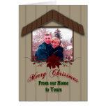 Christmas House - PHOTO INSERT Cards