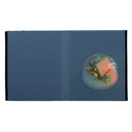 Christmas House snow globe Caseable Case iPad Case