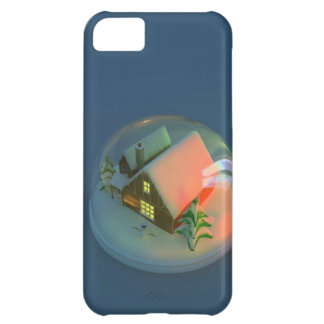 Christmas House snow globe iPhone 5C Cases