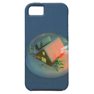 Christmas House snow globe iPhone SE/5/5s Case