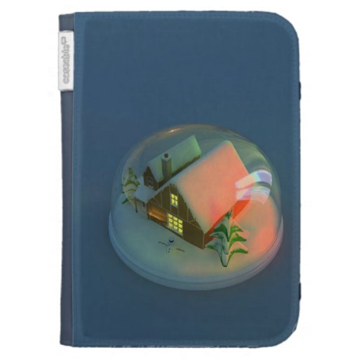 Christmas House snow globeCaseable Case Cases For Kindle