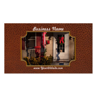 Christmas - How much is that doggy in the window Business Card Templates