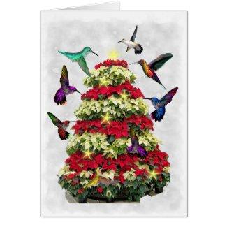Christmas Hummers Card