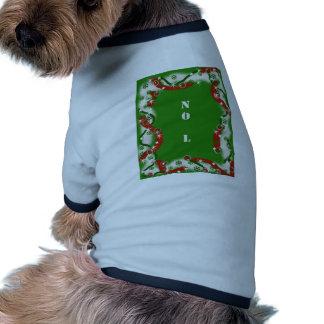 Christmas Humor NO L Doggie Tee Shirt