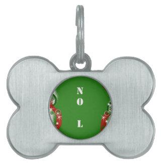 Christmas Humor   NO L Pet Name Tag
