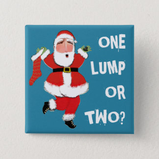 christmas humor pinback button