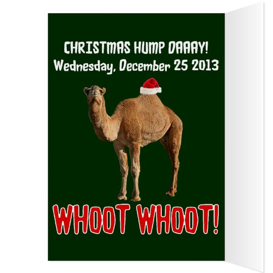 Christmas Hump Day Camel Christmas Card