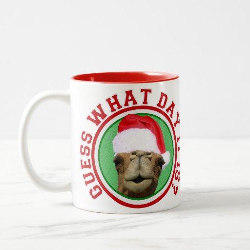 Christmas Hump Day Camel Santa Coffee Mug