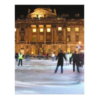 Christmas Ice Skating Flyer