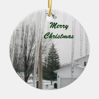 CHRISTMAS ICICLES ornament