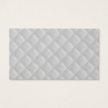 Beach Themed Christmas Icy White Quilt Pattern Business Card