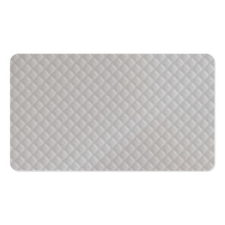 Christmas Icy White Quilt Pattern Double-Sided Standard Business Cards (Pack Of 100)