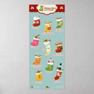 christmas idioms and phrases poster - Christmas Idioms