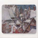 Christmas illustrations mouse pad