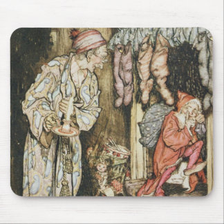 Christmas illustrations mouse pads
