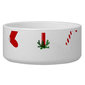 Christmas Illustrations Pet food bowl