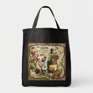 Christmas in a Bottle Tote Bag