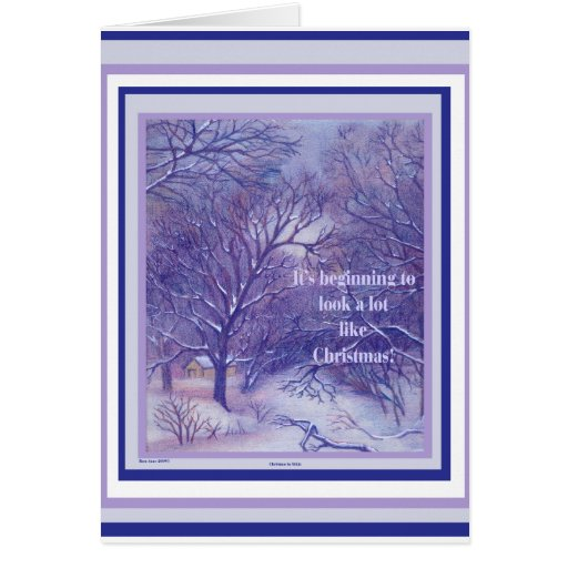 Christmas in Aitkin Note Card